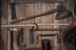 Tools at Clarence River Wilderness Lodge